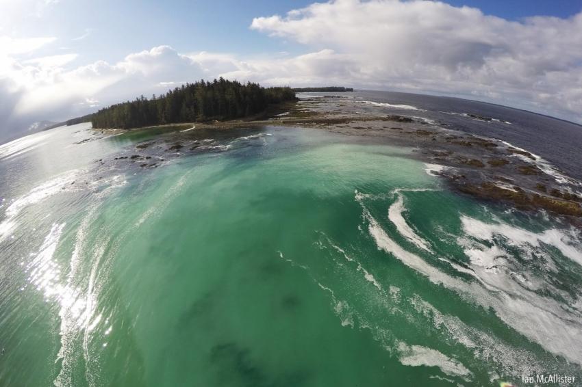 The Habitat - Pacific Wild ship - Ian McAllister
