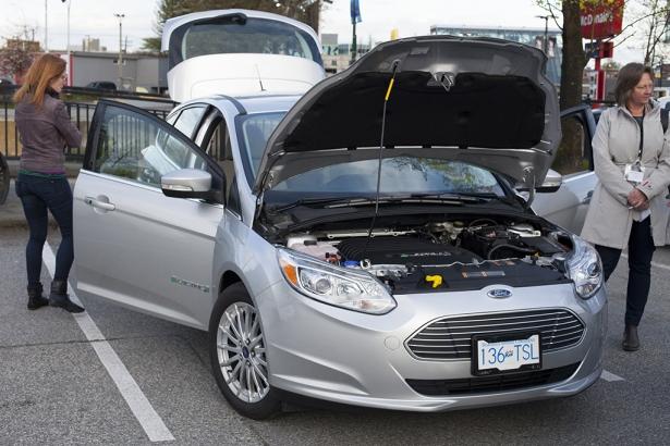 Ford electric car - BCEA / VEVA electric car show 2014 - Mychaylo Prystupa