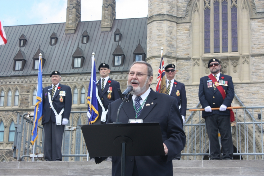 Peter Goldring Parliament Hill, May 31, 2012 (2)