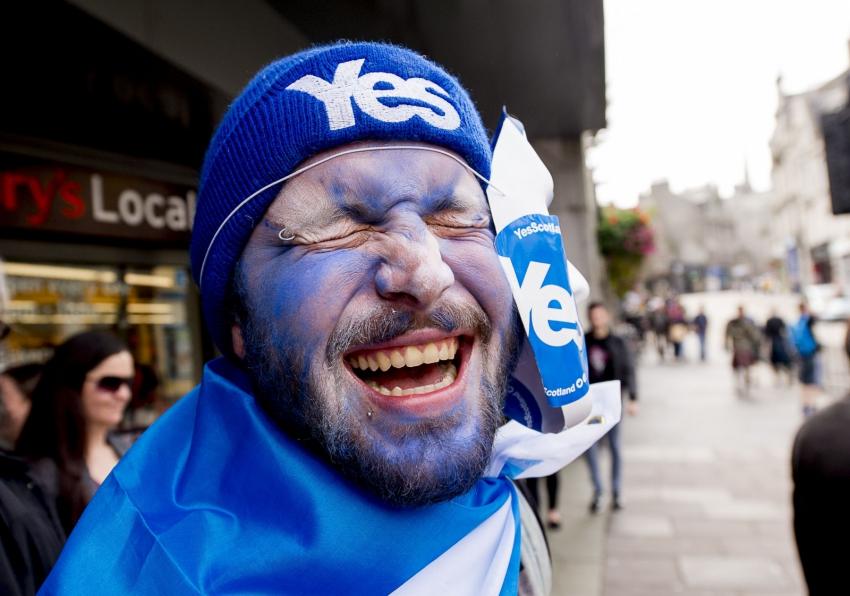 Yes voter Scotland
