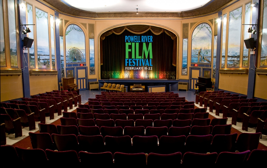 The Powell River Film Festival at the Patricia Hotel