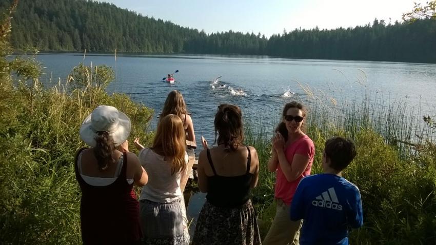 Lake Eight in the Nine Lake Swim
