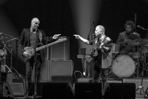 Paul Simon and Sting give each other some love
