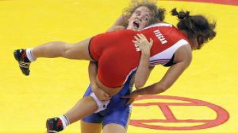 Leah Callahan, a freestyle wrestler with a dream to compete in the 2012 Olympic