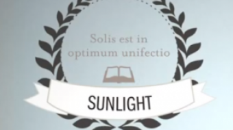 """Sunlight is the best disinfectant"""