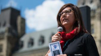 Hupacasath First Nation member Brenda Sayers