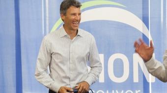 Vision mayoral candidate Gregor Robertson - Mychaylo Prystupa
