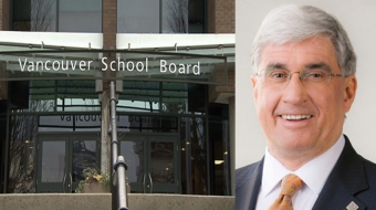 Vancouver School Board chair Christopher Richardson resigns