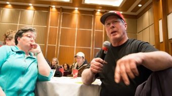 Doug McKay - farmer OEB Energy East meeting Ottawa - Avery Zingel