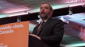 Thomas Mulcair, Tom Mulcair, NDP,