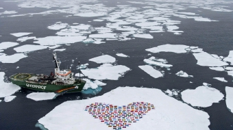 Greenpeace, Arctic, protest, Shell