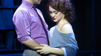 "Leads Adam J. Rennie and Karli Dinardo in ""Flashdance - The Musical"""
