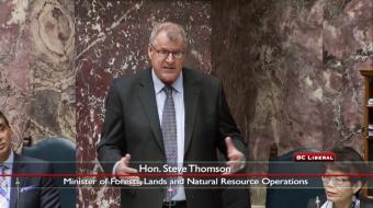 grizzly trophy hunt Minster Steve Thomson BC legislature Vancouver Observer