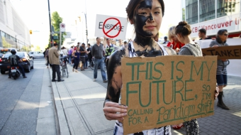 National Observer Jacqueline Lee Tam oil protest Enbridge Vancouver Observer