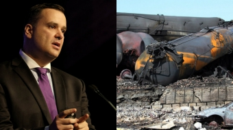 James Moore makes stuff up. Lac Megantic. Pipeline.
