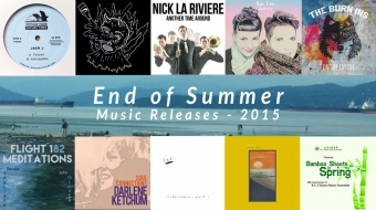 end-of-summer music releases