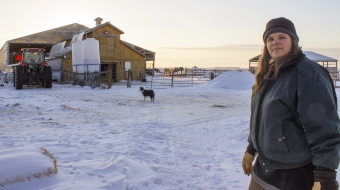 Louise May Manitoba organic farmer Energy East opponent - Jill Winzoski