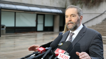 oil pipelines, TransCanada, Mulcair