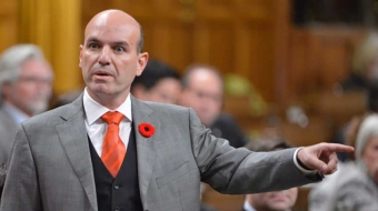 Nathan Cullen in the House of Commons