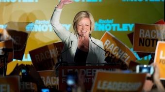 Alberta NDP Premier elect Rachel Notley - National Observer