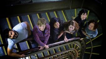 VO team in the Dominion Building