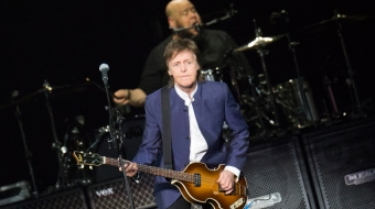Paul McCartney performs at Rogers Arena in Vancouver, April 20, 2016