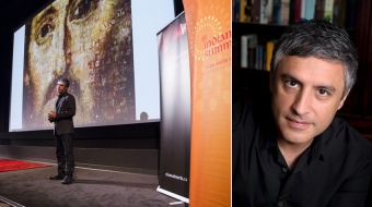 Reza Aslan at Indian Summer Festival 2014. Photo by Tom Delamere