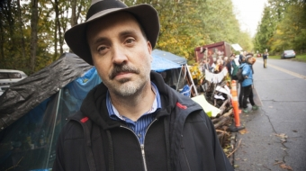Stephen Collis, Vancouver, Poetry, Burnaby Mountain, Kinder Morgan