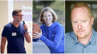 Mike Tippett, Sally Ann Reiss, Nik Badminton