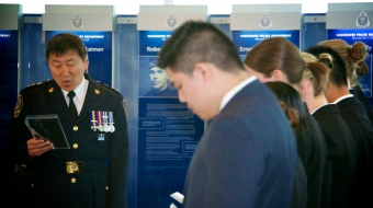 Vancouver Police Department, Vancouver Police Chief Jim Chu, New recruits