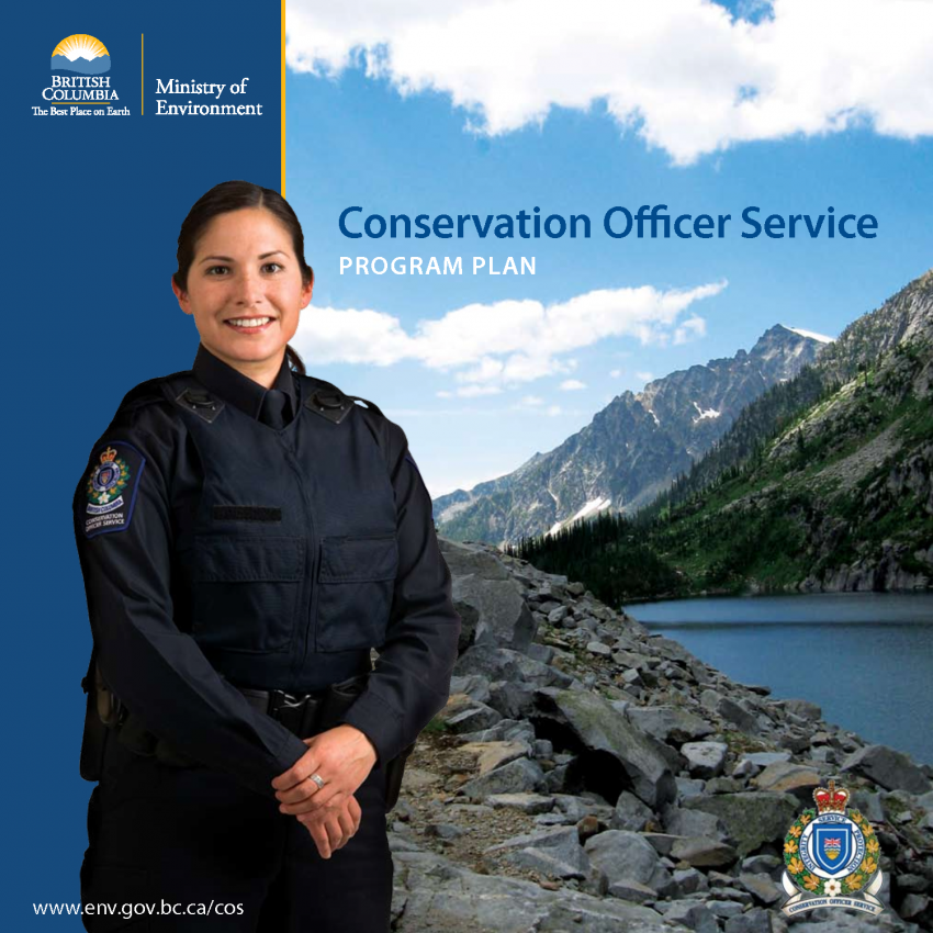 BC government ad for the Conservation Service